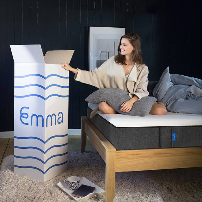 emma matelas le matelas innovant emma. Black Bedroom Furniture Sets. Home Design Ideas